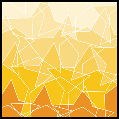 Abstract Geometric Mosaic Background: Stars