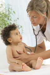 Bébé - Examens respiratoires