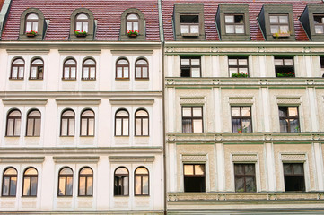 Liberec Hausfassaden - Liberec facade 03
