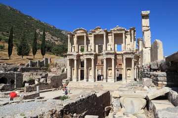 The Librasry of Celsus, Ephesus - Turkey