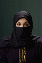 Middle Eastern woman wearing hijab