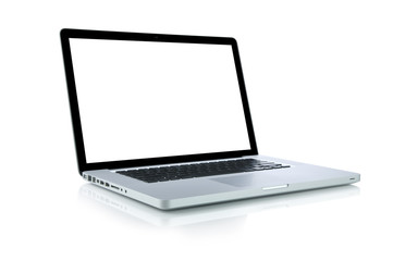 Laptop (Clipping path included)