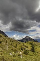 Panorama montano nelle Alpi italiane