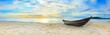 Leinwanddruck Bild - Beach panorama
