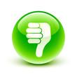 icône pouce bas / thumb down icon