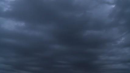 Gewitterwolken - ZEITRAFFER
