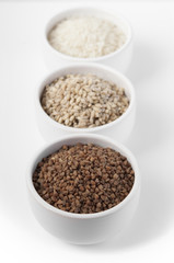 Grains selection