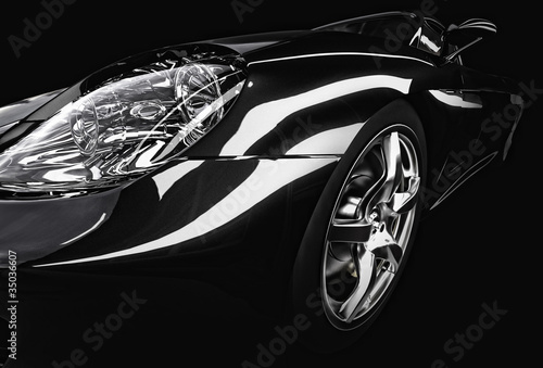 sport car detail