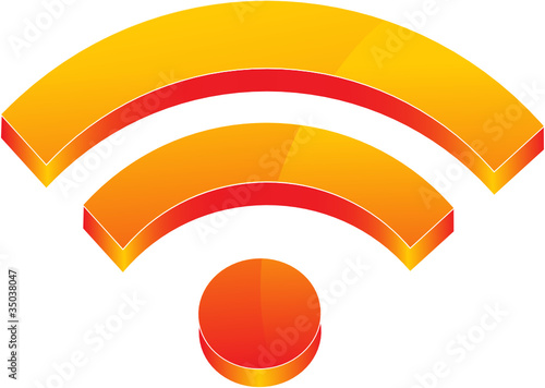 3D Wireless Logo