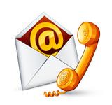 e-mail contact téléphone