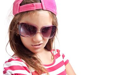 Trendy hispanic girl with an attitude