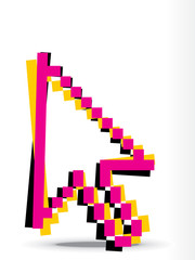 abstract cursor mouse symble