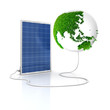 Solar panel for green and renewable energy