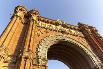 Arco de Triunfo, Barcelona,España