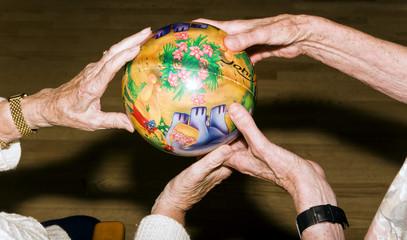 Seniorenhände