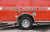 Hazardous Materials Squad truck