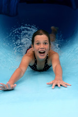 Tobbogan de piscine