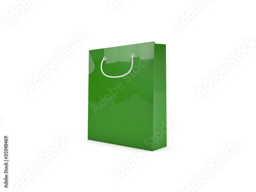 3d Rendering Papiertüte / Shoppingbag