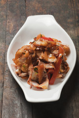 Casserole in dish