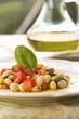Fresh Italian bean salad
