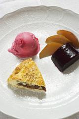 Various elegant desserts