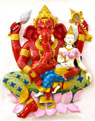 Indian God Ganesha or Hindu God Name Sankatahara Ganapati avatar