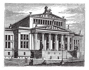 Konzerthaus Berlin or Schauspielhaus Berlin, concert hall, Berli