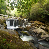 Smoky Mountains Waterfall on the Chattooga River