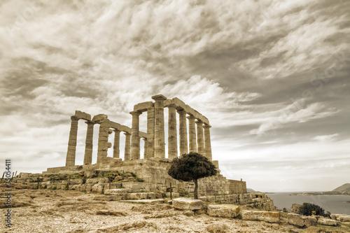 Fototapeta antyczny - archeologia - Starożytna Budowla