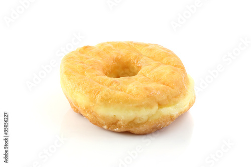 Chocolate Donut isolated in white background