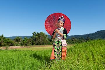 Portrait Hmong von Laos