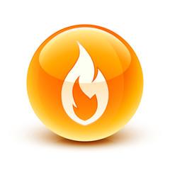 icône feu / fire icon