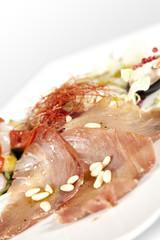 salmone e cernia