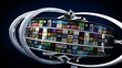 Animation film 3D TV videos