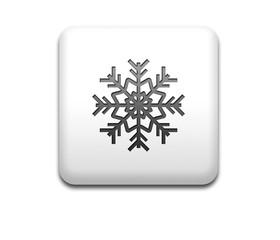 Boton cuadrado blanco simbolo frio