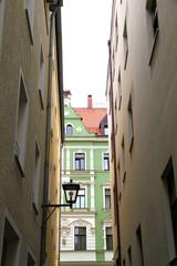 Gasse in Regensburg