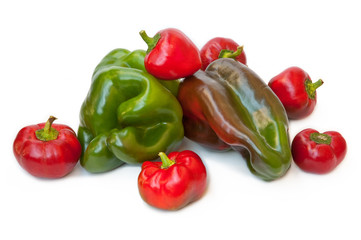 To eat healthy: peppers