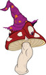 The wood wizard a fly agaric