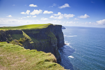Cliffs Of Moher in a Sunny Day