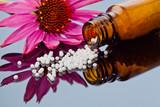 Homöopathie. Globuli als alternative Medizin poster