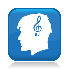 MUSIC HEAD ICON