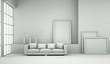Designmodell- Sofa mit Kissen