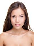 Beauty woman portrait - brunette