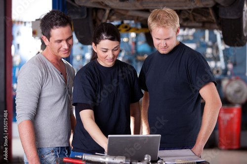 Mechanics with Laptop