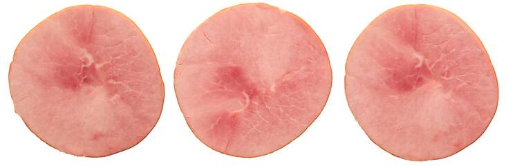 close up of honey baked ham