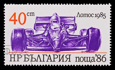 BULGARIA - CIRCA 1986: vintage car Lotos 1985, circa 1986