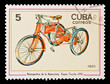 CUBA - CIRCA 1985:  old bike,  Kayser Triciclo 1910, circa 1985