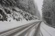 Wintereinbruch - Rutschige Strasse