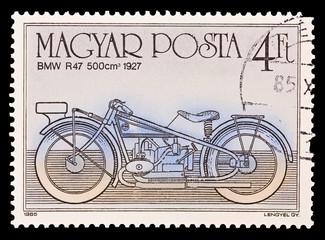 HUNGARY - CIRCA 1985. BMW R47 500cm 1927