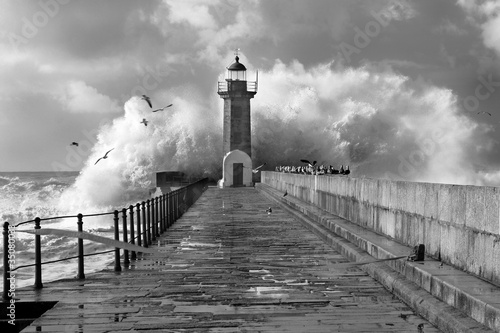 Lighthouse, Foz do Douro, Portugal © jpcasais